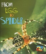 From Egg to Spider (How Living Things Grow)-ExLibrary