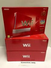CONSOLE NINTENDO WII ROSSA RED 25TH ANNIVERSARY SUPER MARIO LIMITED - BRAND NEW