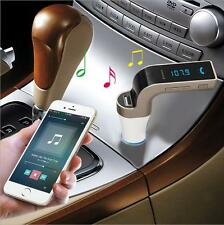 Bluetooth CAR Kit Radio FM Transmitter TF MP3 Musik Spieler A2DP Audioempfänger