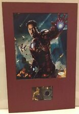 Robert Downey Jr Autograph 11x17 Display Photo+Costume JSA COA Iron Man psa