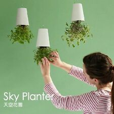 Sky Planter Indoor suspension Flower Pot Upside-Down Saving Plant Pot OE