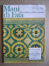 MANI DI FATA n°7 1968 con cartamodelli  [C59]