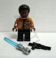 Lego Star Wars Ep. 7 NEW Finn minifigure saber 75139 Battle On Takodana TFA 2016