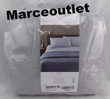 Oake Piquet Printed 400 Thread Count KING Fitted Sheet Dove Gray