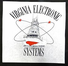 Virginia Electronic Systems Charter Boat Screen Print Transfer Wall Sample