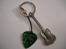 S G guitar/ pleck and keyring.
