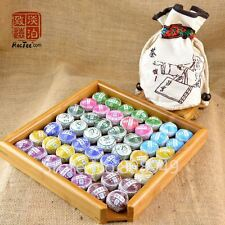 50 pcs 10 kinds of Different Mini Puer Tea with Cloth Bag Chinese Puerh Tea