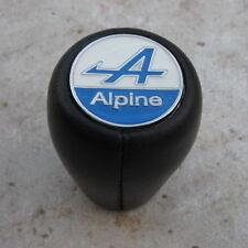 Pommeau Vitesse Cuir Complet pour Alpine A110   R5 Alpine Turbo et Autre