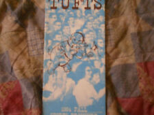 1964 TUFTS JUMBOS COLLEGE FOOTBALL MEDIA GUIDE Yearbook Press Book Program AD