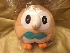 OFFICIAL TOMY ALOLA Pokemon SUN AND MOON ROWLET plush soft toy Pokémon Starter