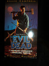 THE EVIL DEAD Ultimate Experience Grueling Terror  MOVIE w/ Box  VHS    (#1310)