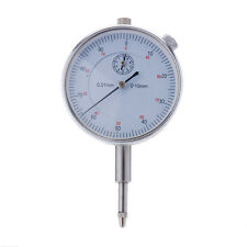 10/0.01mm Precision Micrometer Measuring Gauging Round Dial Indicator Gauge Tool