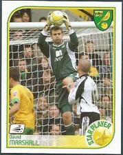 PANINI CHAMPIONSHIP 2009- #279-NORWICH CITY-STAR PLAYERDAVID MARSHALL