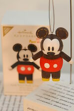 LOOK WHO'S POOK-A-LOOZ!~2011 HALLMARK ORNAMENT~MICKEY MOUSE~FREE SHIPPING US~