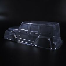 1/10th Scale RC Crawler Car Clear Transparent PVC Body Shell Paintable