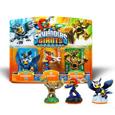 NEW HOT Skylanders Giants 3 Pack SONIC BOOM SPROCKET STUMP SMASH Skylande Figure