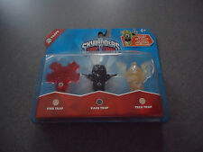 NEW Skylanders Trap Team: Triple Trap Pack: Fire, Kaos & Tech  NEW