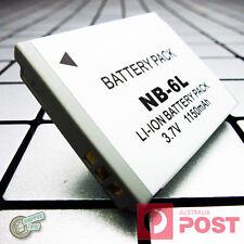 NB6L NB6LH NB-6L Battery for Canon PowerShot SX280HS SX500IS SX510HS SX520HS