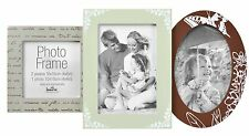 Wood Multi Aperture Photo Frame Picture Frame 3 Shapes Holds 3 Photos 6x4 4x4