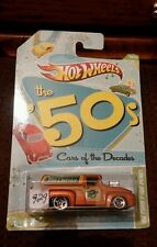 Hot Wheels Cars Of The Decades '56 Ford F-100 Panel 2011 made