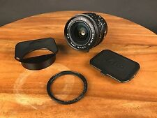 Leica Super-Elmar M 21mm f/3.4 ASPH & B+W UV filter EX+
