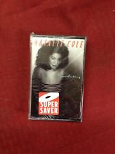 NEW FACTORY SEALED NATALIE COLE: EVERLASTING CASSETTE TAPE