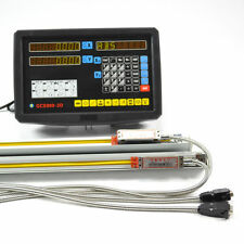 2 AXIS DRO KITS DIGITAL READOUT FOR MILL LATHE WITH TTL LINEAR SCALES/ENCODER