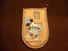 "Vintage Walt Disney Mickey Mouse "" Home Sweet Home "" Hot Pot Holder Glove"