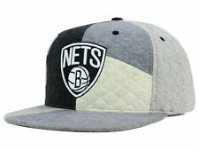 "Mitchell & Ness Brooklyn Nets NBA ""Fleece Slasher"" Snapback Cap - Adjustable Hat"