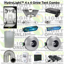 HydroLight™ Complete 1000 Watt Grow Tent w Light Kit System 1000w Ballast Hood