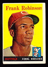 1958 TOPPS #285 FRANK ROBINSON REDS