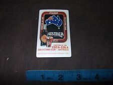 Coca Cola Collectors Club Magnet National Convention #2 Australia 1995 Coke Tray