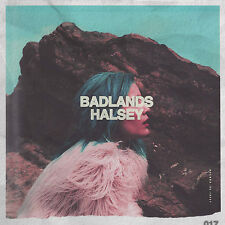 Badlands - Halsey (CD, 2015, Astralwerks) Parental Advisory - FREE SHIPPING
