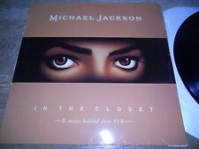 """MICHAEL JACKSON """"IN THE CLOSET"""" 4 REMIXES OUT OF PRINT USED 1992 EPIC RECORDS***"""