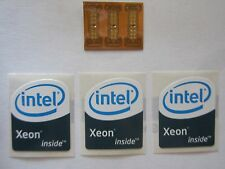 3 LGA 771 to 775 Adapters for Xeon Mod with 3 'Intel Xeon Inside' stickers