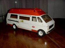 "Vintage 19"" Tonka Transport Rescue Medical Emergency Ambulance Van & Stretcher"
