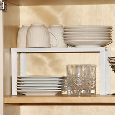 Metal Kitchen Cabinet and Counter Top Organizer Shelf , 13 inch wide 5 inch deep