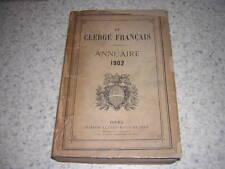1902.le clergé français.annuaire catholique