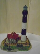 Harbour Lights Fire Island NY New York Lighthouse 1995  #406 A3903 Signed World