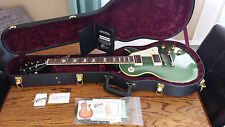 2009 GIBSON Les Paul CUSTOM SHOP 1950's Standard AGED PELHAM BLUE Rare BEAUTIFUL