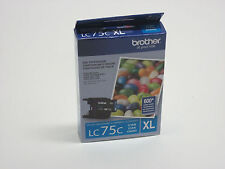 Genuine Brother LC75 XL high yield  cyan ink LC 75 DCP J525W J725DW J925DW J280W