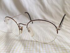 Charmant 420 Gold RX Eyeglasses 52 22 145 Frame Japan