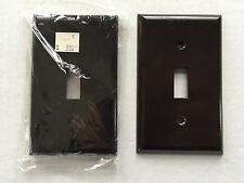 VINTAGE DARK BROWN BAKELITE Light Switch Plate Cover NEW OLD STOCK