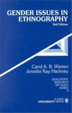 Gender Issues in Ethnography (Qualitative Research Methods)