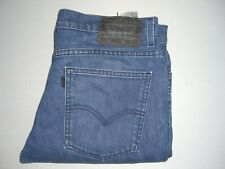 Mens LEVI'S STRAUSS 510 Blue Super Skinny Stretch Denim Jeans W33 L34 - 33x34