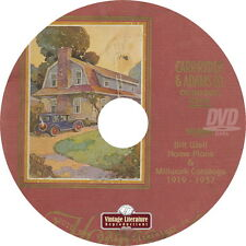 Bilt Well Home Plans and Millwork {4 House Plan Catalogs } on DVD