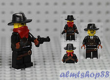 LEGO Series 6 - Bandit 8827 Minifig Minifigure Outlaw Bank Robber Collectible