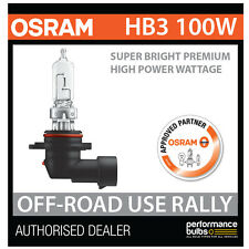 NEW! 69005SBP OSRAM HB3 9005 100W SUPER BRIGHT PREMIUM OFF-ROAD RALLY BULB (x1)