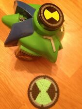 BEN 10 - Alien Force - OMNIDISC / Shooter Launcher Omnitrix Fun Toy + Free Mat