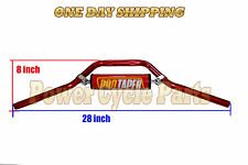 DIRT BIKE PIT BIKE HANDLE BAR HONDA CRF50 XR50  PROTAPER CUSHION CRF XR 50 RED